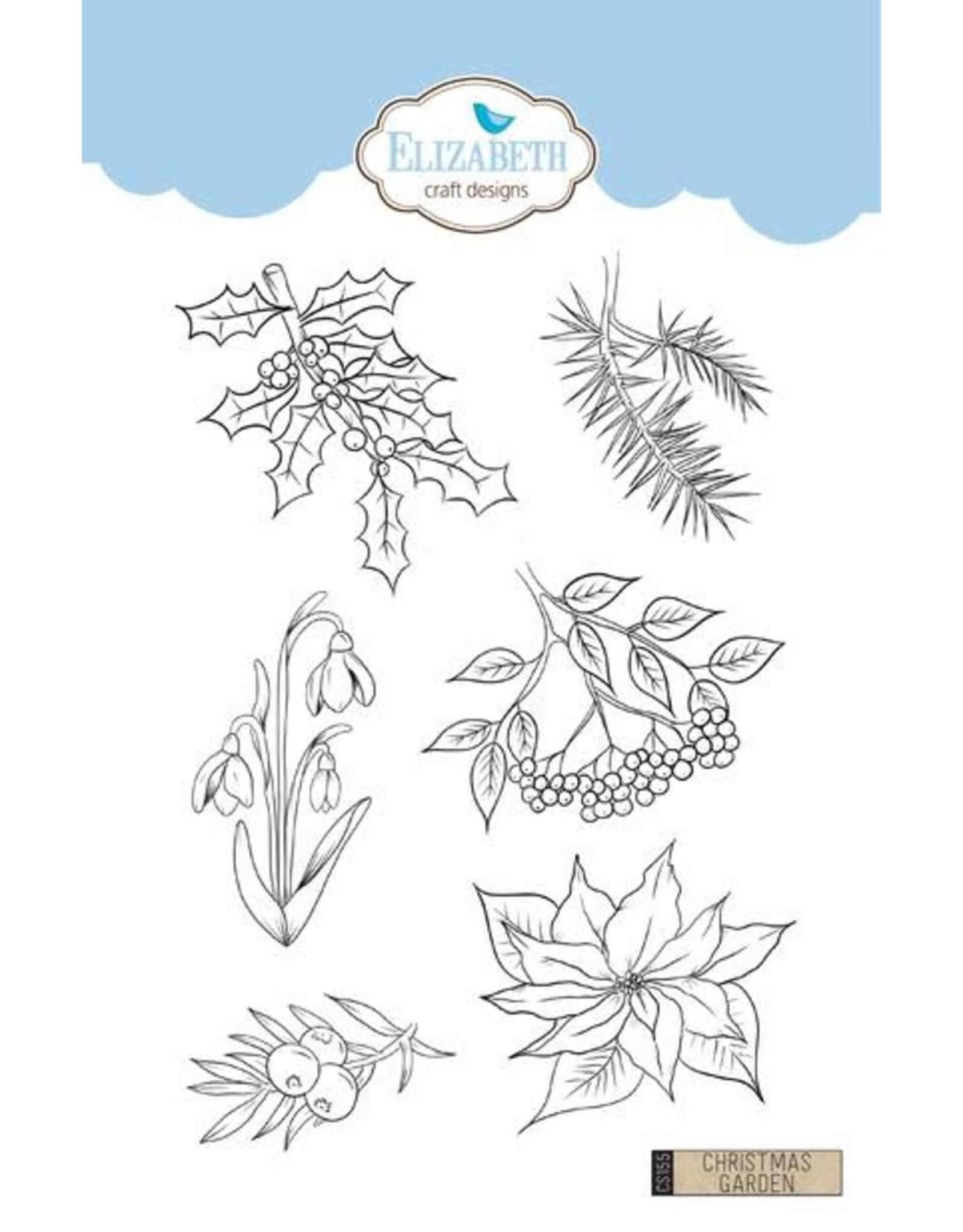Elizabeth Craft Designs Elizabeth Craft Designs Christmas Garden CS155  Charlene vd Vorst