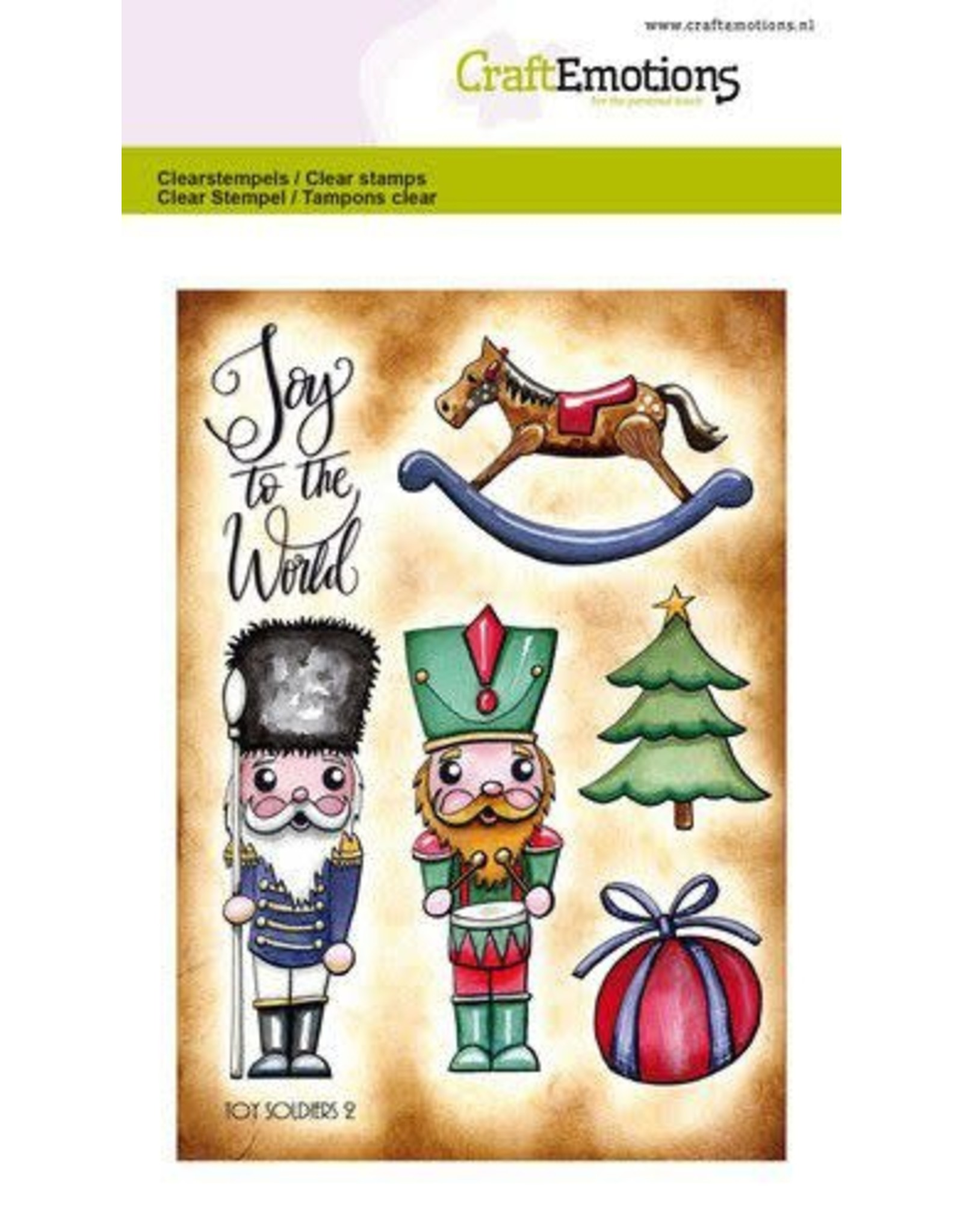 Craft Emotions CraftEmotions clearstamps A6 - Toy soldiers 2 Carla Creaties