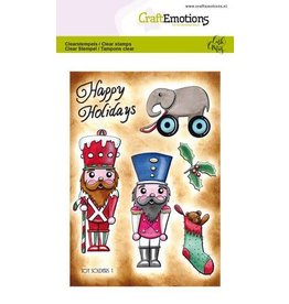 Craft Emotions CraftEmotions clearstamps A6 - Toy soldiers 1 Carla Creaties