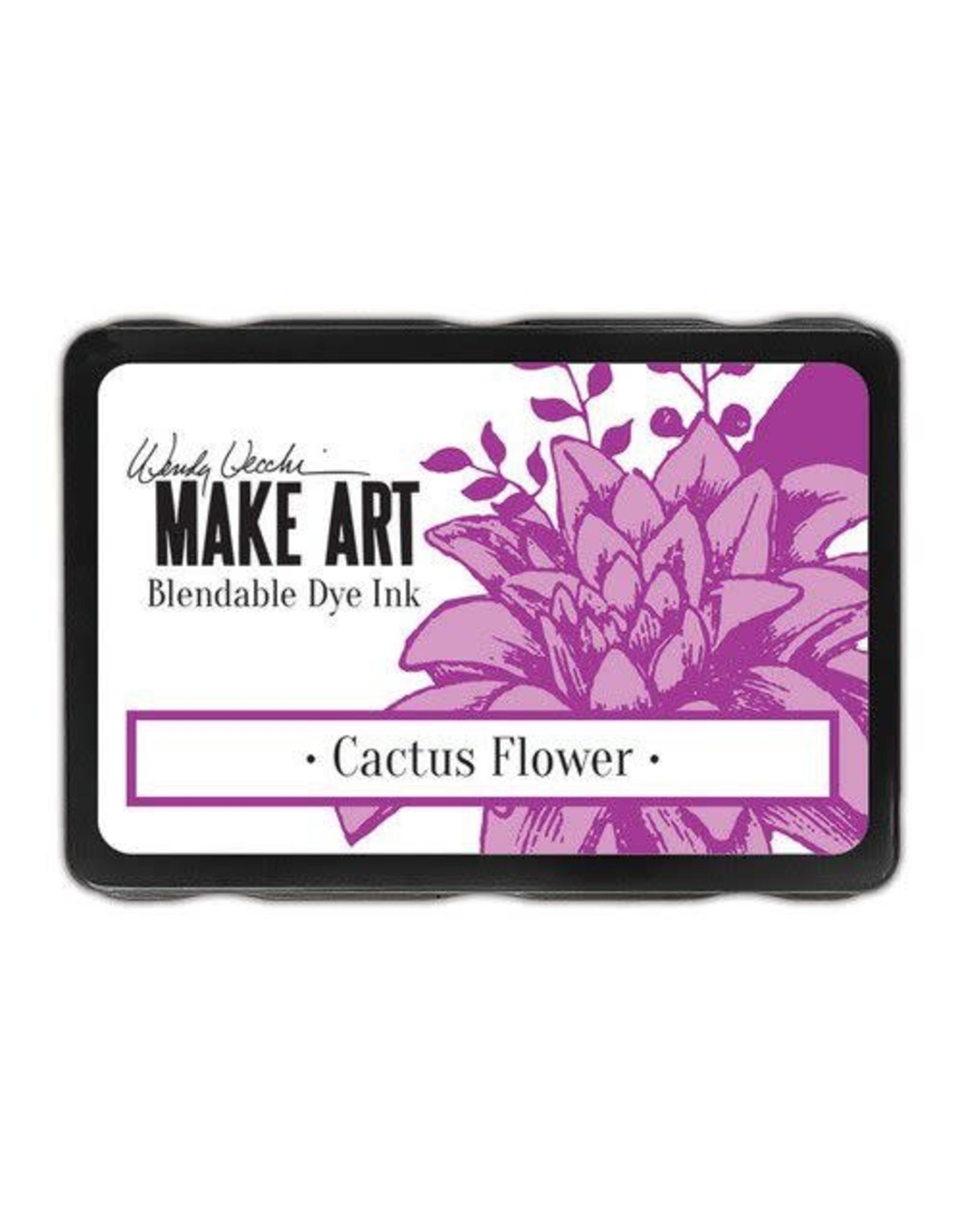 Ranger Ranger MAKE ART Dye Ink Pad Cactus Flower WVD64305 Wendy Vecchi