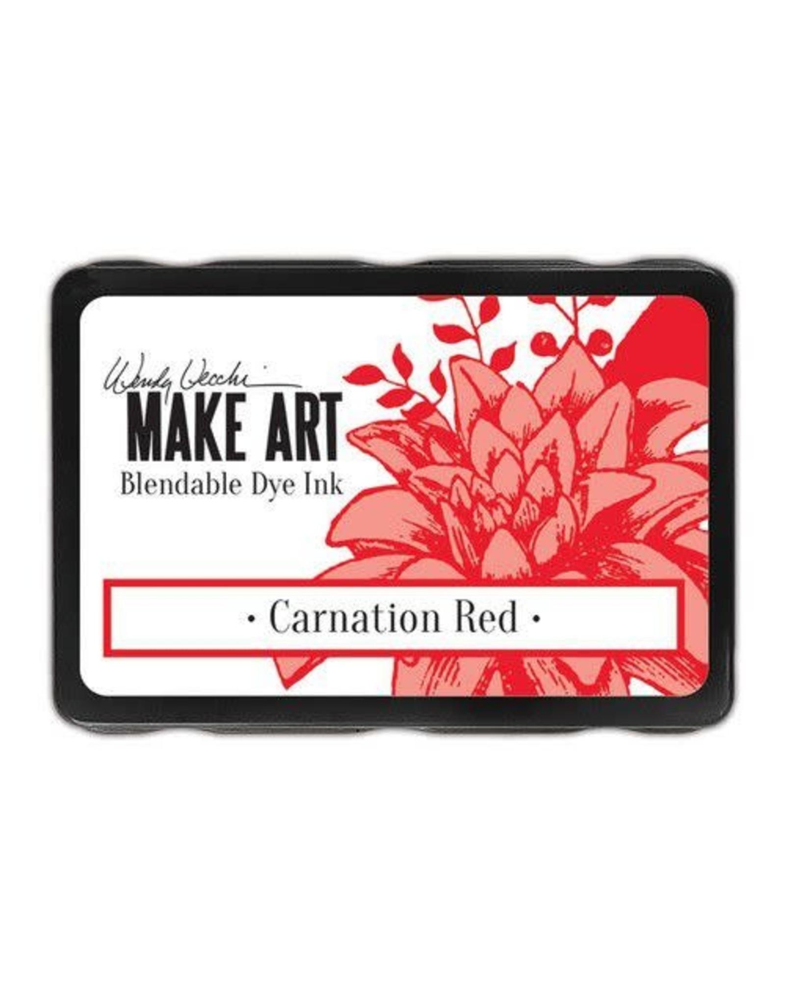 Ranger Ranger MAKE ART Dye Ink Pad Carnation Red WVD64312 Wendy Vecchi
