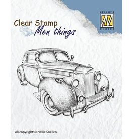 Nellie's Choice Nellie's Choice Clearstamp - Men things Oldtimer 2 CSMT007