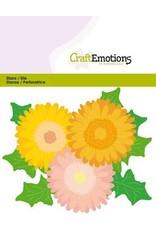 Craft Emotions CraftEmotions Die - Gerbera Card 11x9cm - 6cm