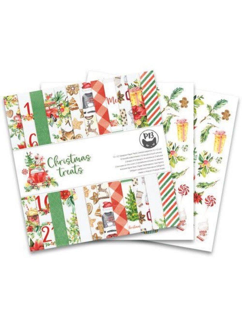 Piatek Piatek13 - Paper pad Christmas treats P13-CHT-08 12x12