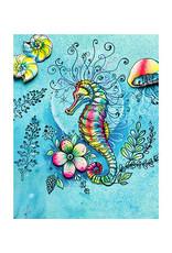 Creative Expressions Creative Expressions Pink Ink Designs Seahorse Swirls