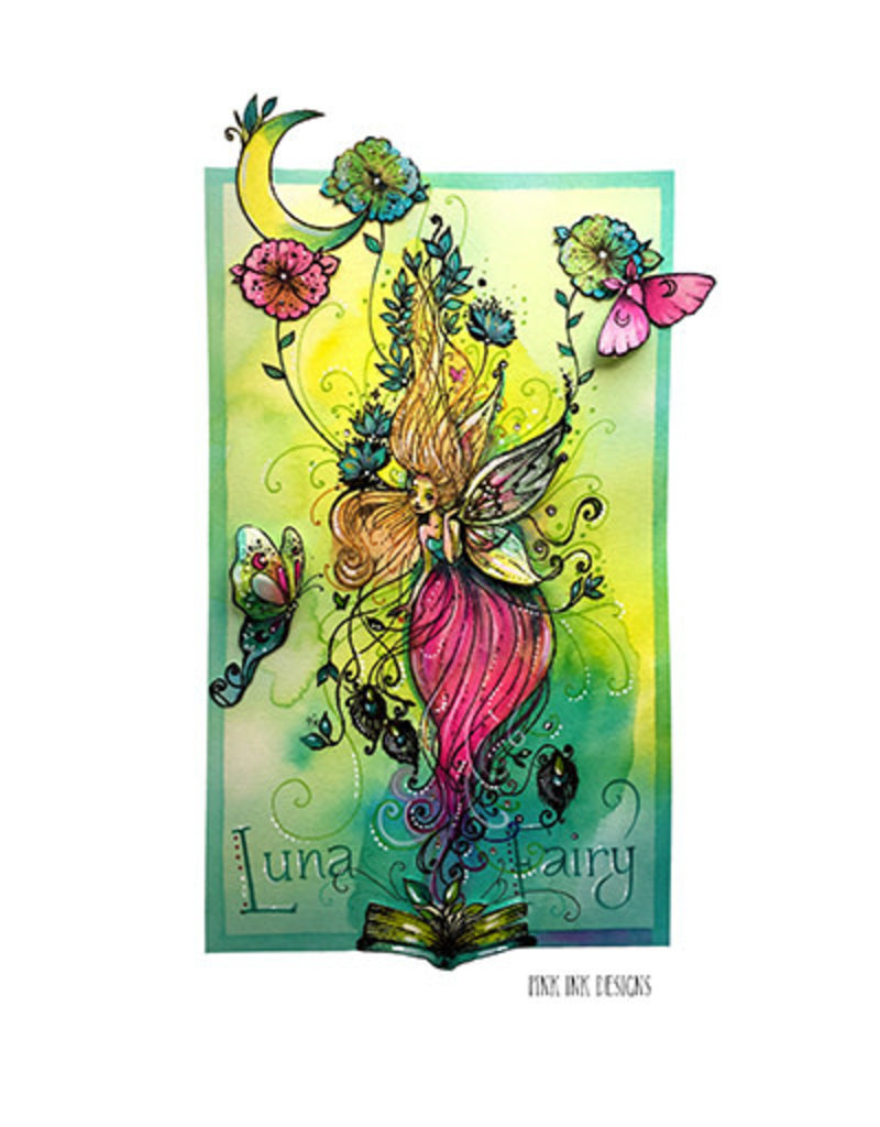 Creative Expressions Creative Expressions Pink Ink Designs Kabouter, elfjes Luna Fairy