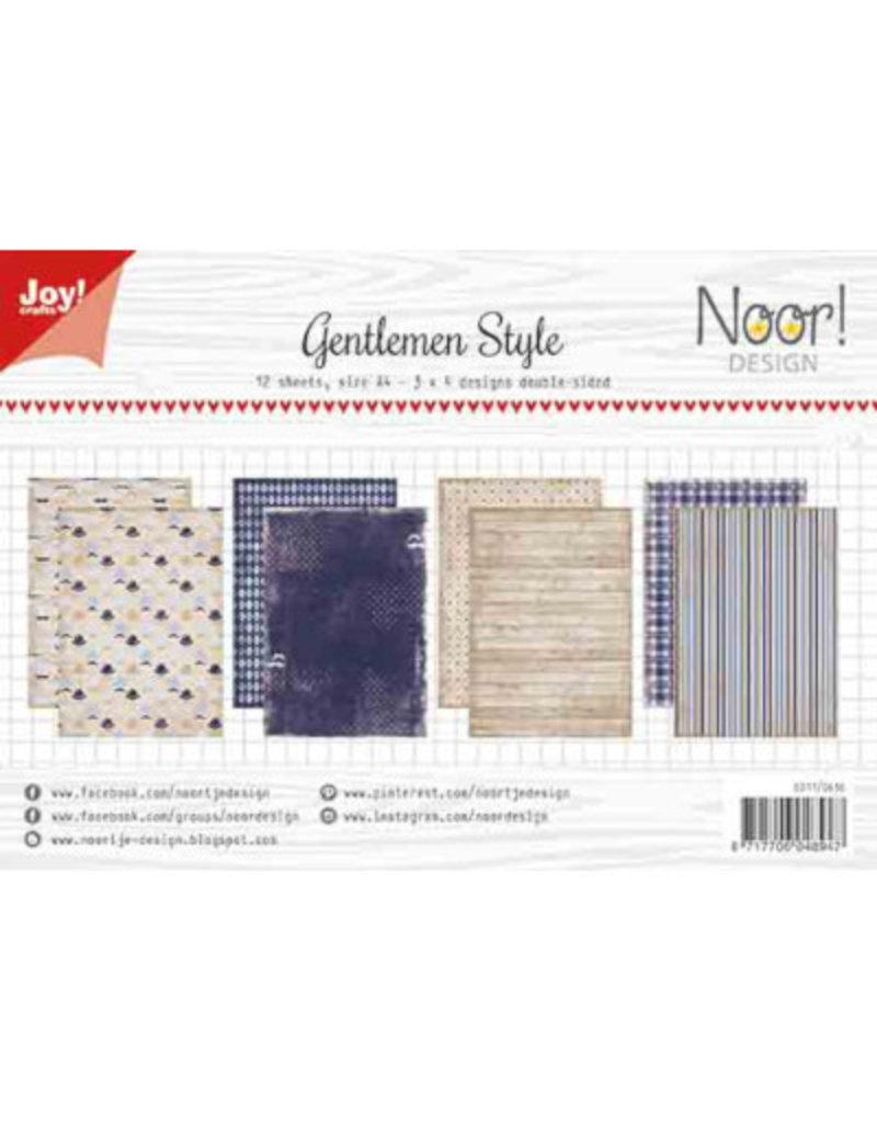 Joy Craft Joy Crafts Knipvellen/Papierset Gentlemen Style 6011/0636