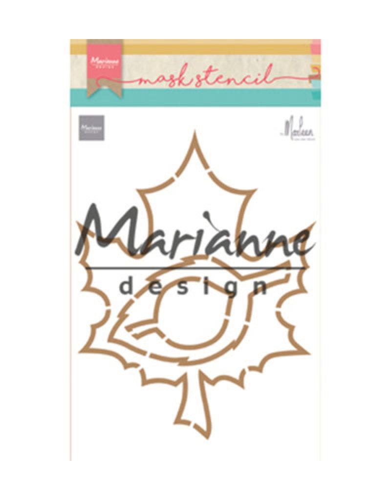 Marianne Design Marianne Design Craft stencil: Autumn leaves by Marleen PS8014