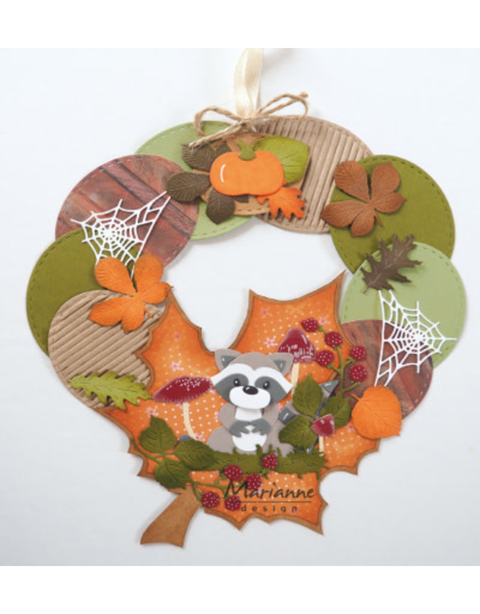 Marianne Design Marianne Design Craft stencil: Autumn leaves by Marleen PS8014