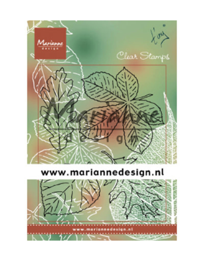 Marianne Design Marianne Design Tiny's Leaves set TC0876