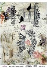 Cadence Cadence rijstpapier vogelkooi - kroontje Model No: 154