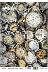 Cadence Cadence rijstpapier oude horloges Model No: 546