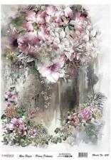 Cadence Cadence rijstpapier bloemen roze Model No: 600