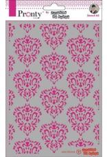 Pronty Pronty Mask Barok pattern A5 470.770.018 by Jolanda