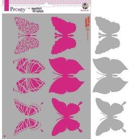 Pronty Pronty Mask Butterflies A4 470.770.016 by Jolanda