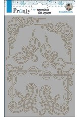 Pronty Pronty Chipboard Barok corners A5 492.010.005 by Jolanda