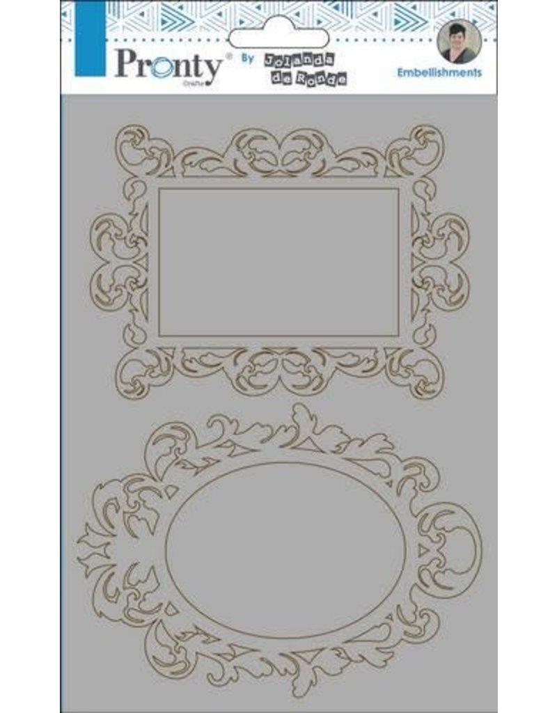 Pronty Pronty Chipboard Barok frames A5 492.010.004 by Jolanda