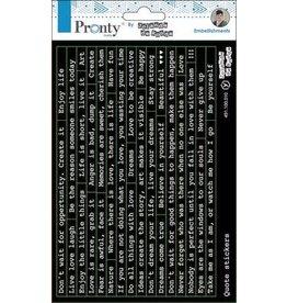 Pronty Pronty Stickers A5 Quotes 491.100.010 by Jolanda