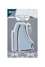 Joy Craft Joy Crafts Snij-embosstencil - Noor - Vintage sneaker 6002/1389