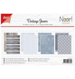 Joy Craft Joy Crafts Papierset - Noor - Design Vintage Jeans 6011/0621