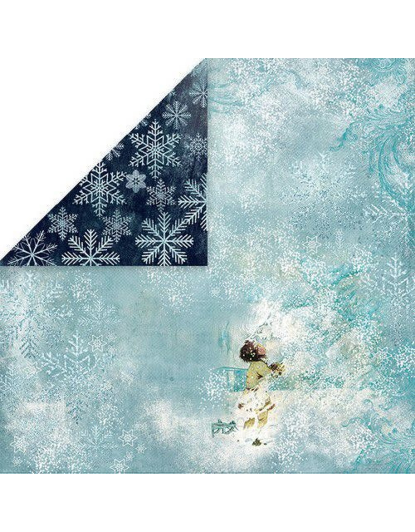 Craft & You Craft&You North Wind Scrapbooking single paper 12x12 CP-NW02