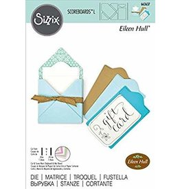 Sizzix Sizzix ScoreBoards L Die - Gift Card Folder & Label #2 663637 Eileen Hull