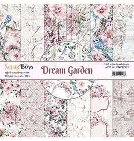 Scrapboys ScrapBoys - Dream Garden - Paperpad 15 x 15 cm  DRGA-09