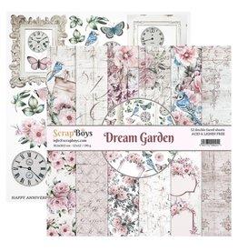Scrapboys ScrapBoys - Dream Garden - Paperpad 30,5 x 30,5 cm  DRGA-08