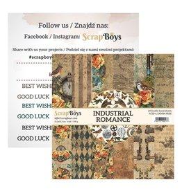 Scrapboys ScrapBoys - Industrial Romance - Paperpad 15 x 15 cm INRO-09