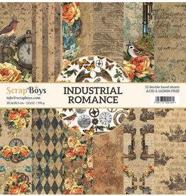 Scrapboys ScrapBoys - Industrial Romance - Paperpad 30,05 x 30,5 cm  INRO-08