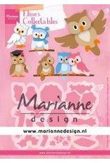 Marianne Design Marianne D Collectable Eline's uil COL1475 112,5x85 mm