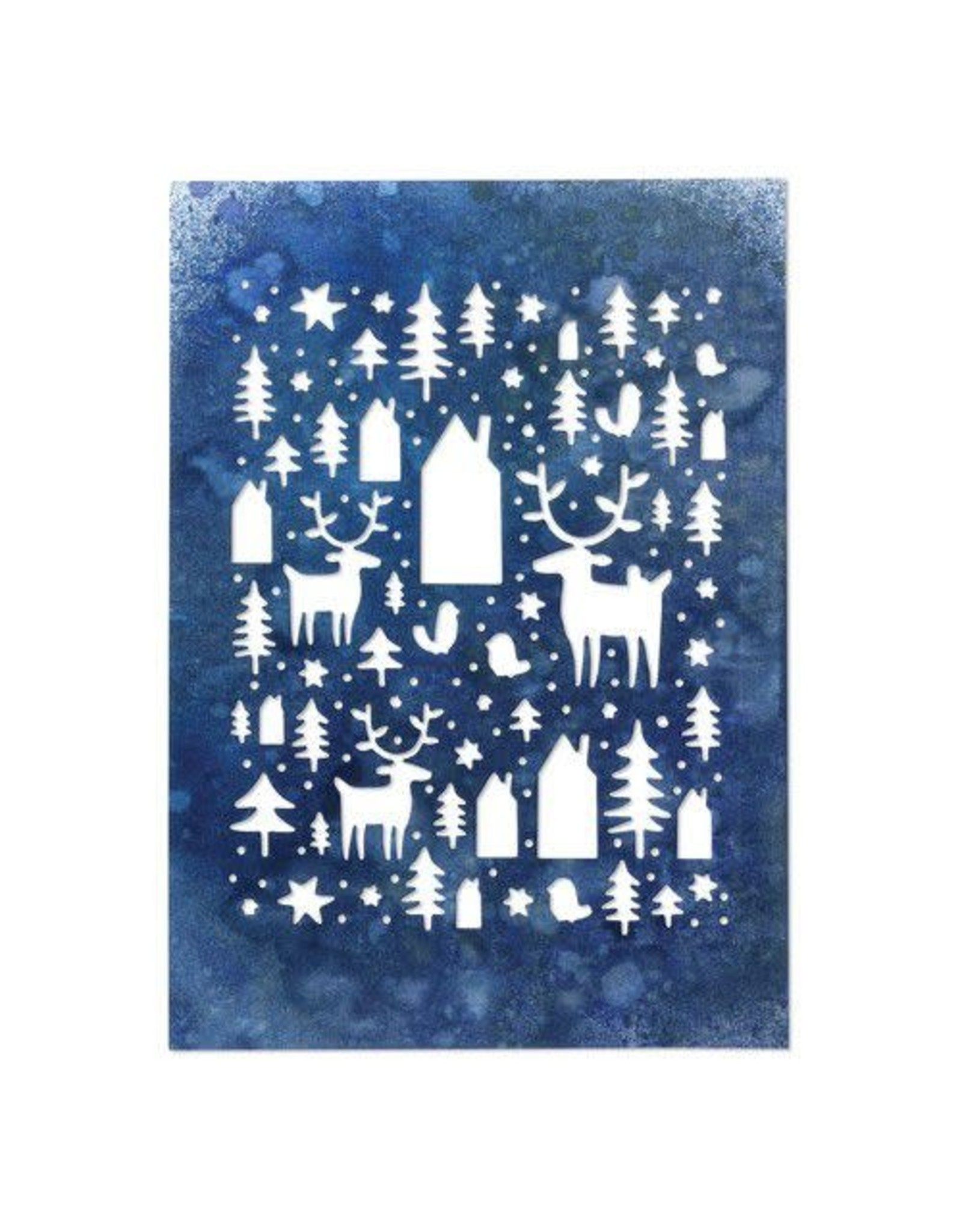 Sizzix Sizzix Thinlits Die - Nordic Winter 664199 Tim Holtz