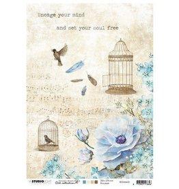 Studio Light Studio Light Rice Paper A4 vel Jenine's Mindful nr 02 RICEJMA02