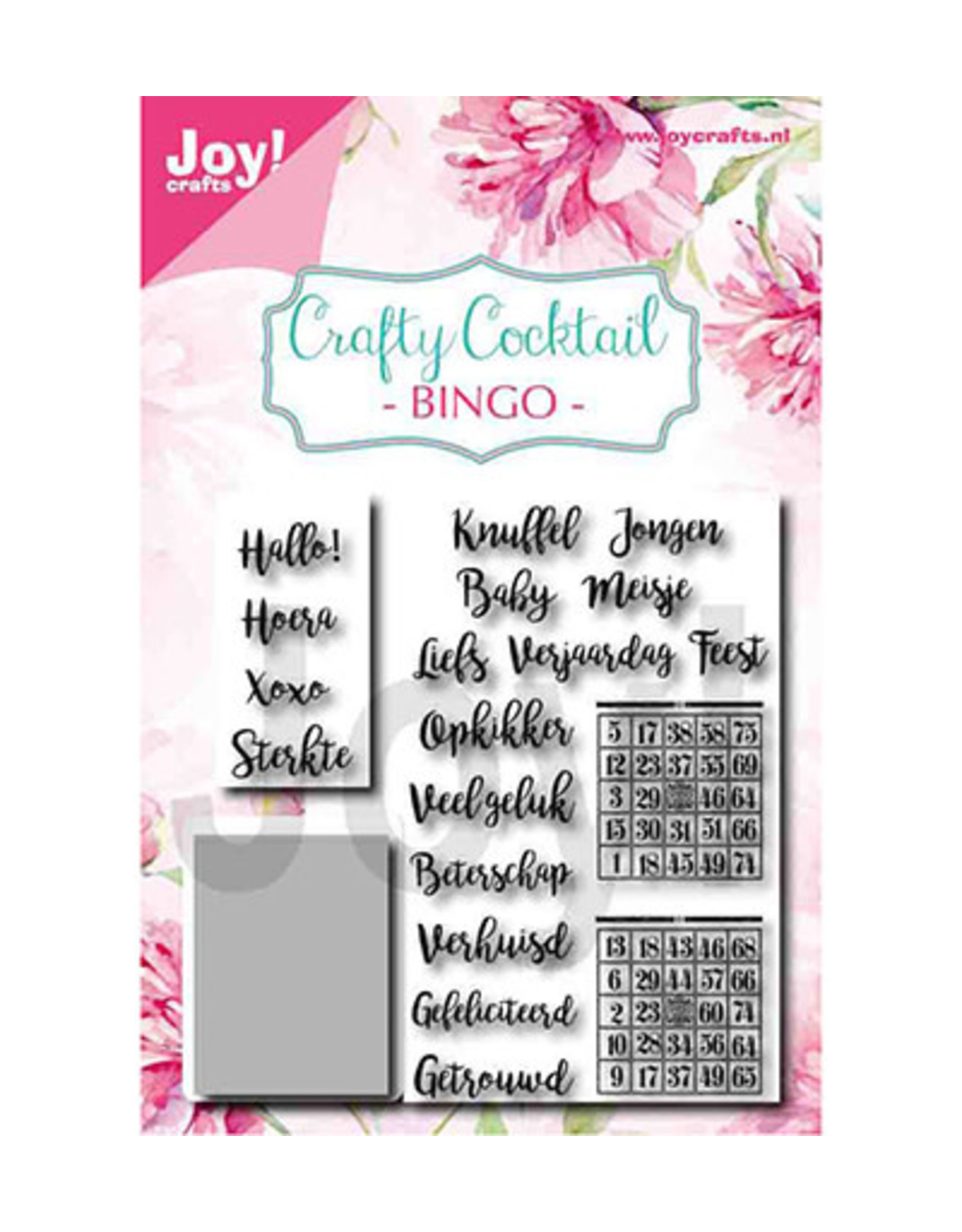 Joy Craft Joy Craft Crafty Cocktail – Bingo 6004/0039