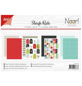 Joy Craft Joy Craft Papier Set A4 Noor - Sleigh Ride 6011/0633