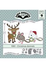 Karen Burniston Karen Burniston Christmas Animals 1061