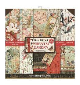 Stamperia Stamperia Oriental Garden 12x12 Inch Paper Pack