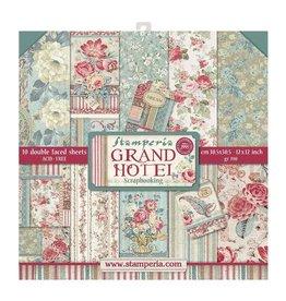Stamperia Stamperia Grand Hotel 12x12 Inch Paper Pack