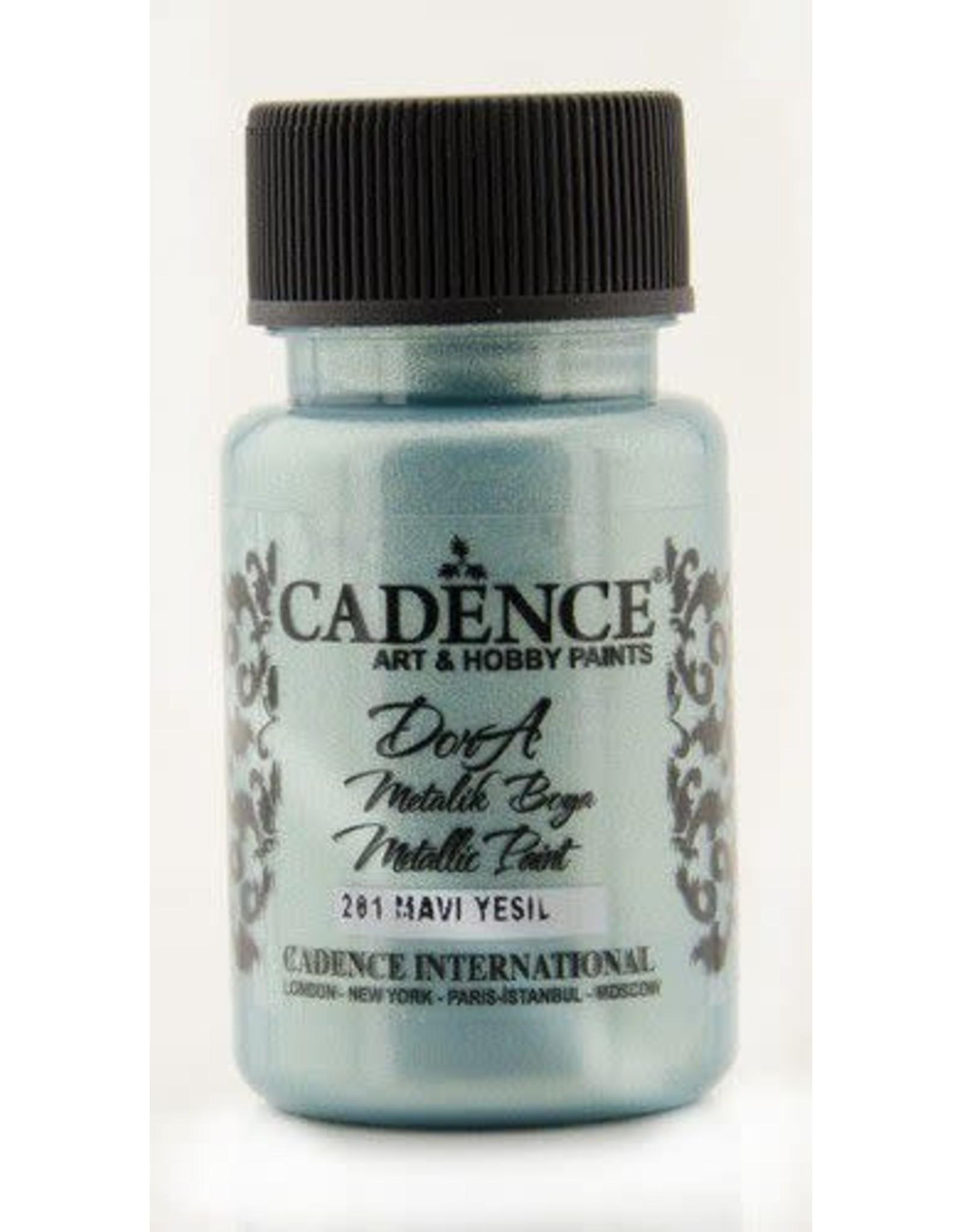 Cadence Cadence Dora metallic verf Blauw groen