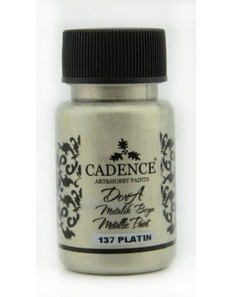 Cadence Cadence Dora metallic verf Platin