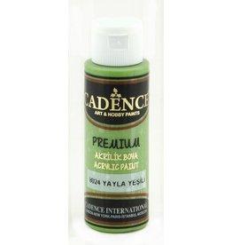 Cadence Cadence Premium acrylverf (semi mat) Plateau groen