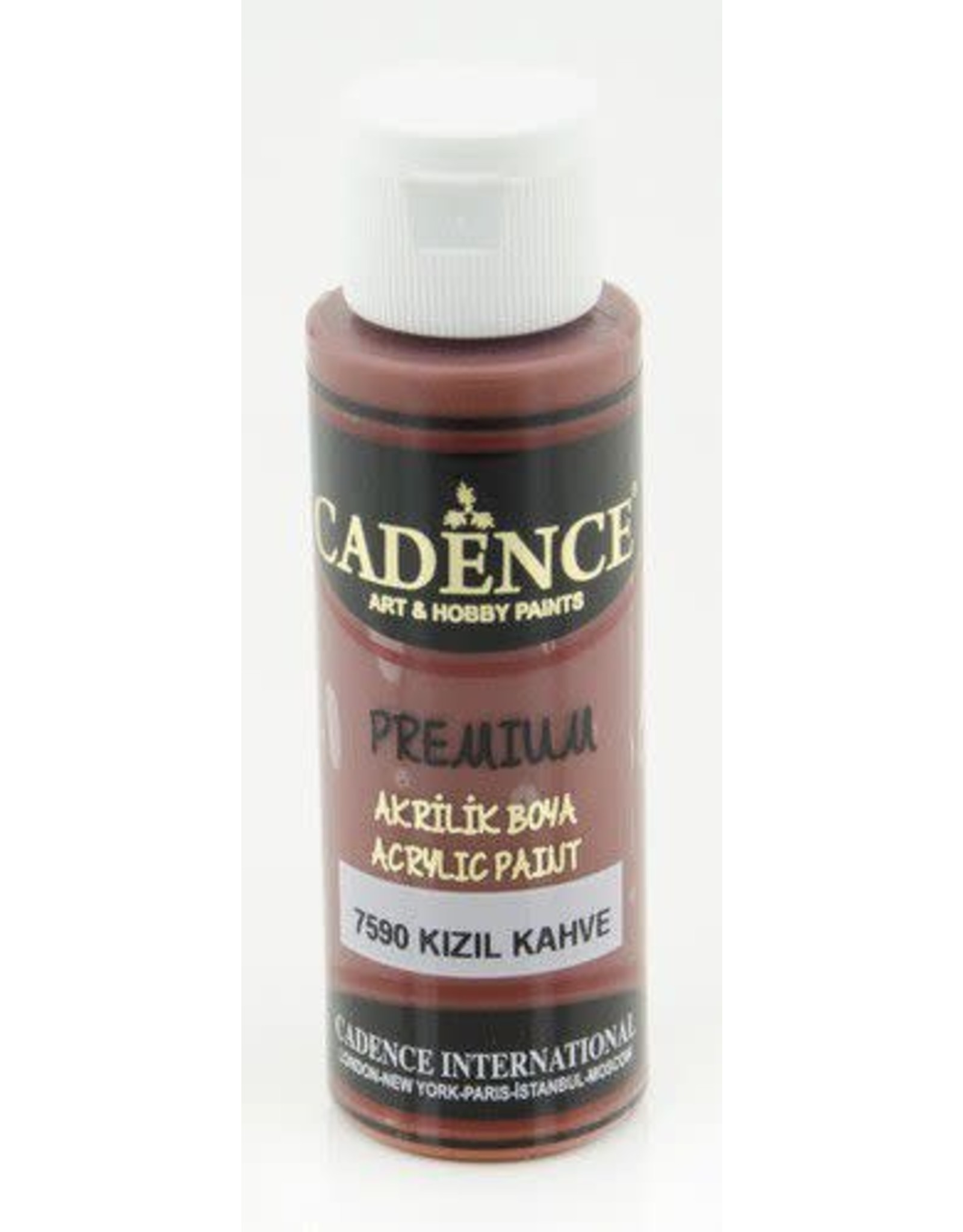 Cadence Cadence Premium acrylverf (semi mat) Roodbruin