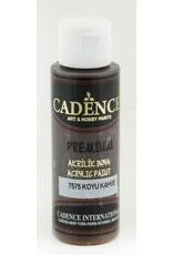 Cadence Cadence Premium acrylverf (semi mat) Donker bruin