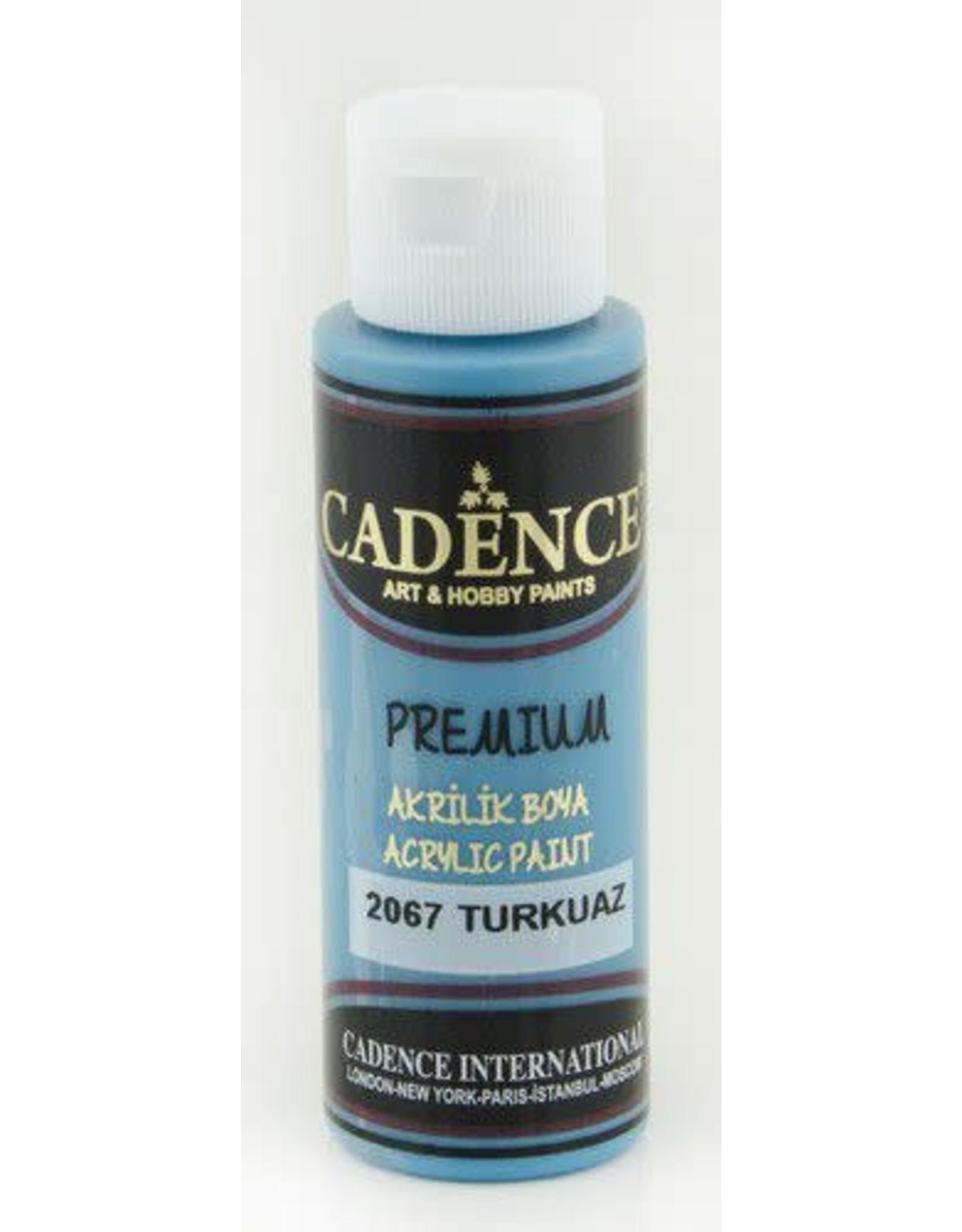 Cadence Cadence Premium acrylverf (semi mat) Turkoois
