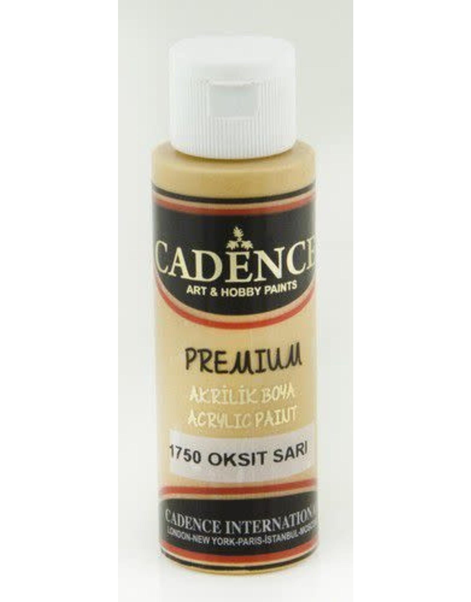 Cadence Cadence Premium acrylverf (semi mat) Oxide geel