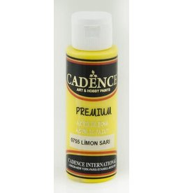 Cadence Cadence Premium acrylverf (semi mat) Citroen geel