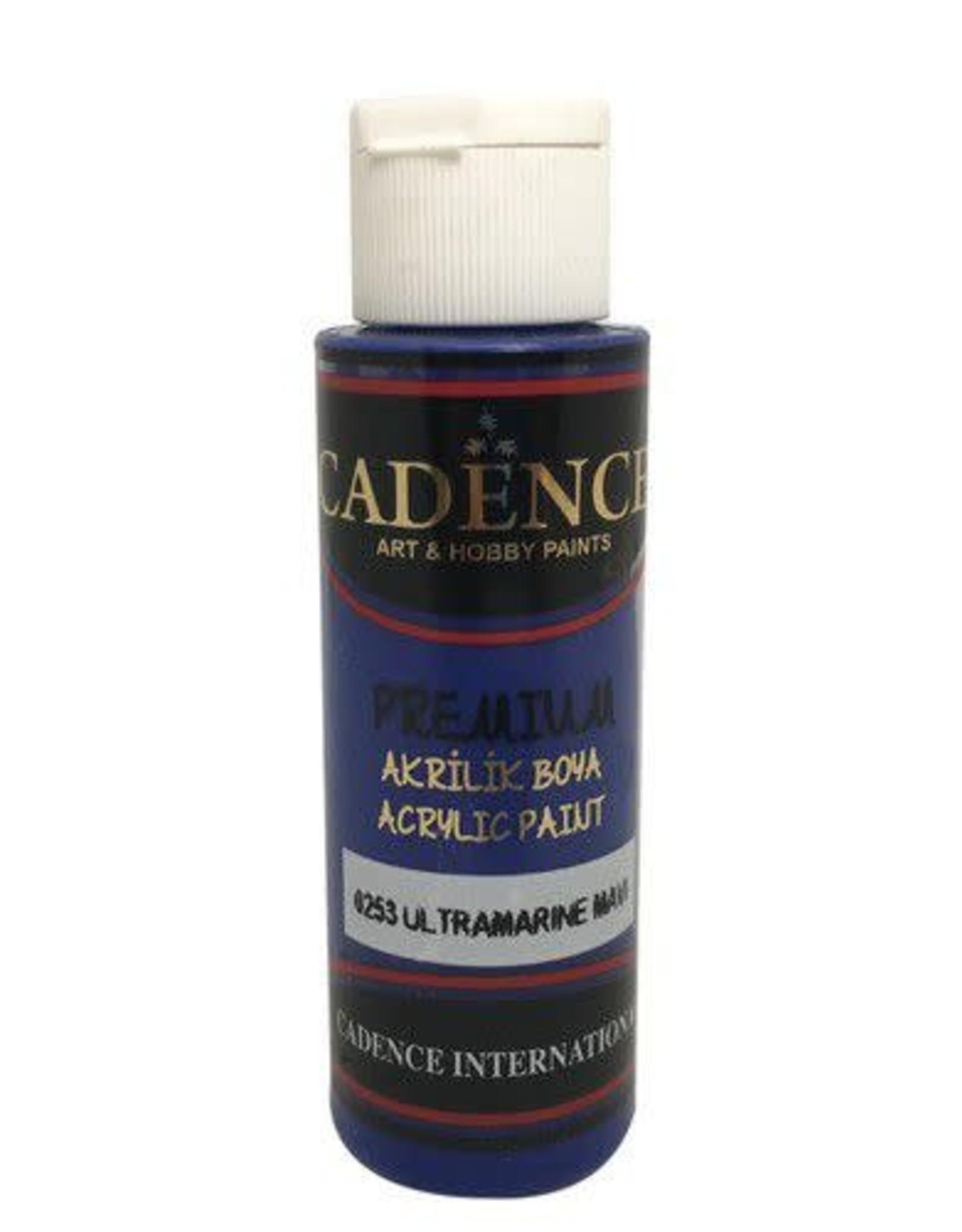 Cadence Cadence Premium acrylverf (semi mat) Ultra Marine Blauw