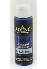 Cadence Cadence Premium acrylverf (semi mat) Donker Violet - Parliament