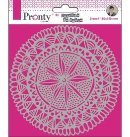 Pronty Pronty Mask Mandala Circle Tribal by Jolanda 15x15 470.770.021 by Jolanda
