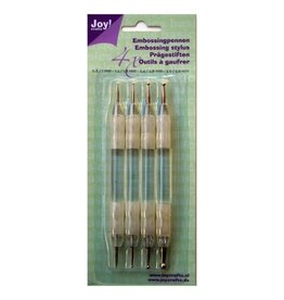 Joy Craft Joy!Crafts • Set van 4 embossing pennen 6200/0023